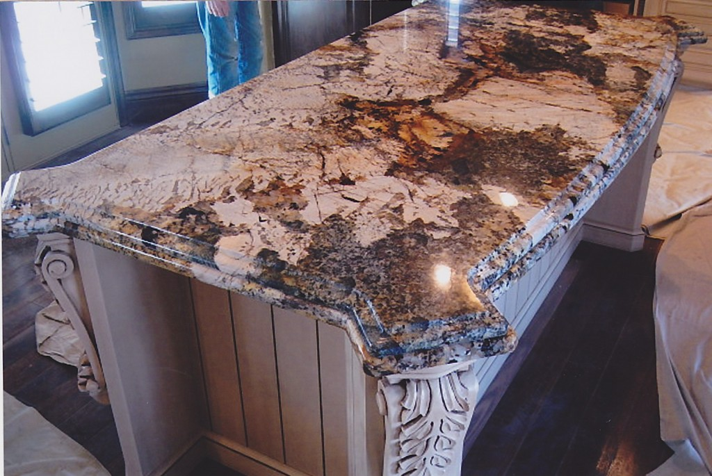 custom stone countertop installation