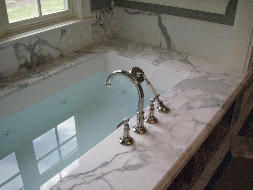 custom bathroom stone Utah