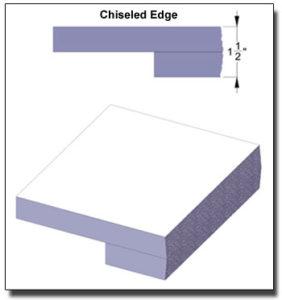 Chiseled Edge