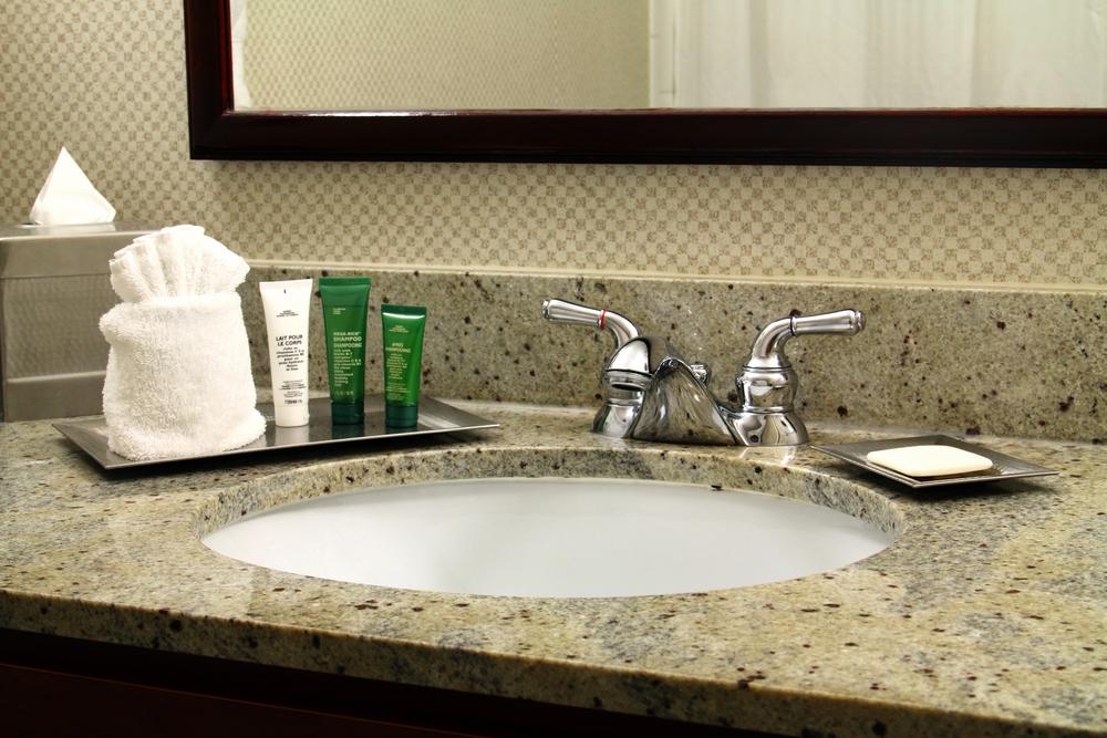 stone bathroom counters