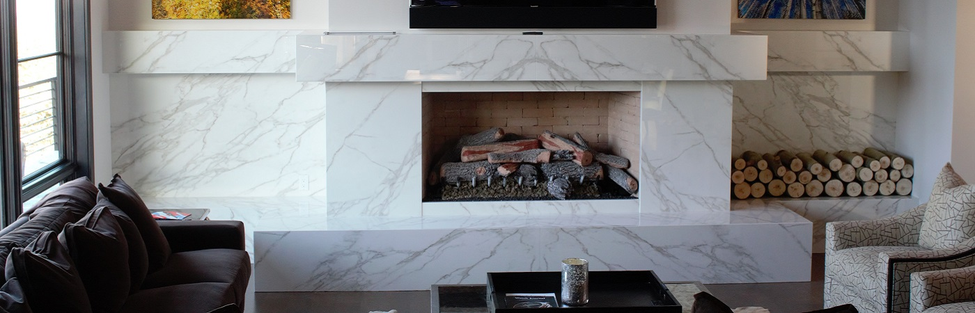 Porcelain Fireplace Mantles Utah