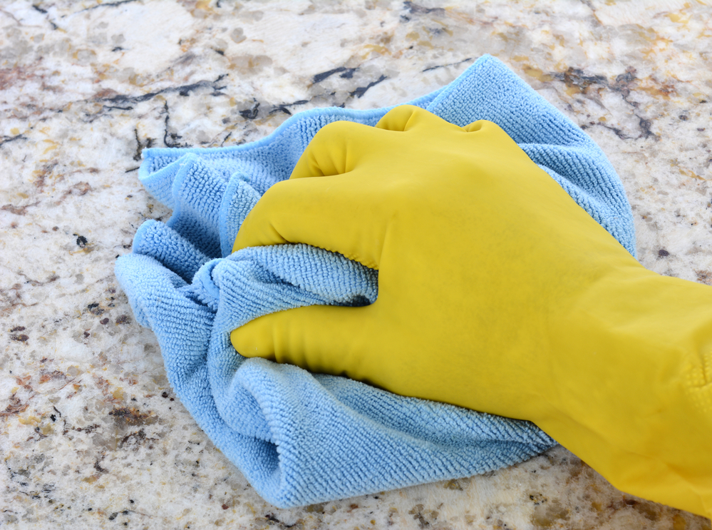 Remove Granite Counter Stains