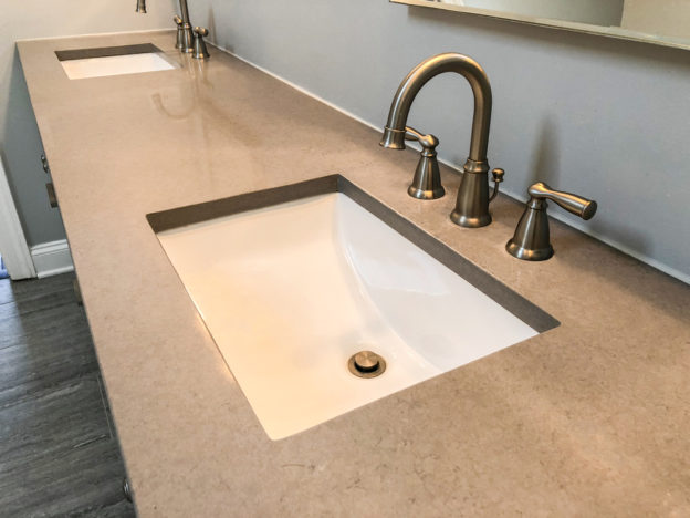 quartz perfect bathroom countertops