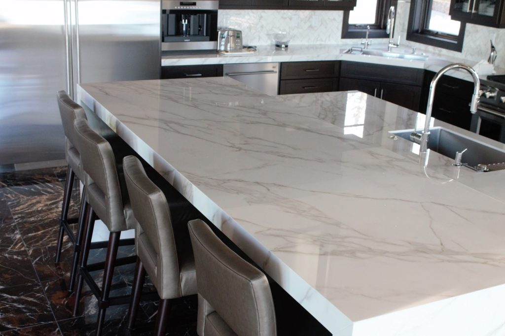 Waterfall Marble Countertop Utah